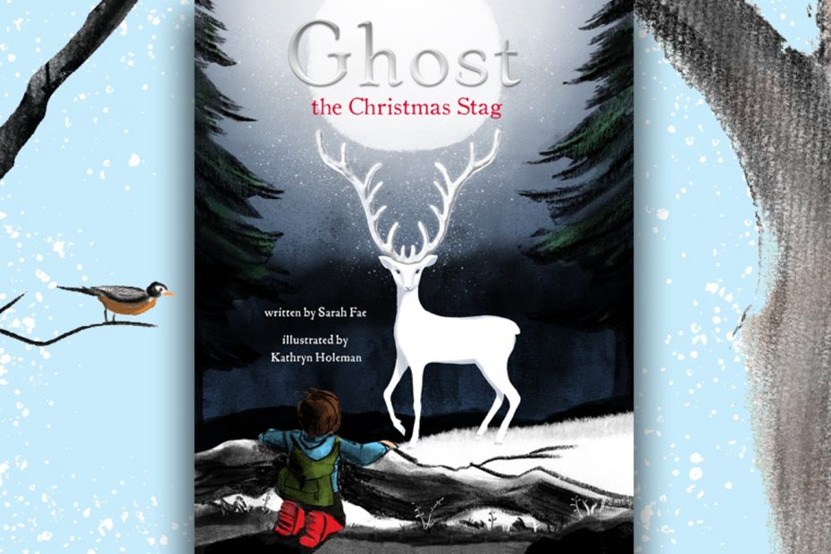 TYNE VALLEY EXPRESS GHOST CHRISTMAS STAG