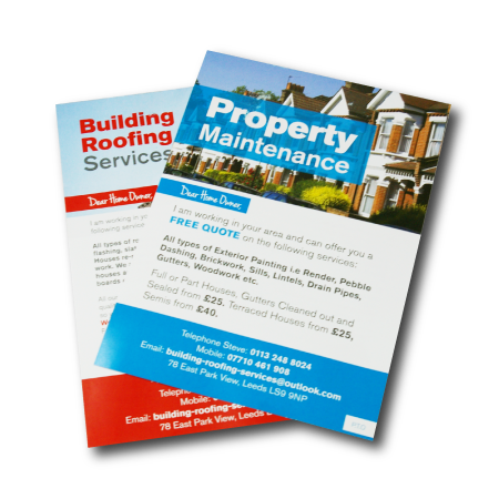 tyne valley express leaflet printing