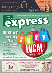 tyne valley express nov dec 20 front