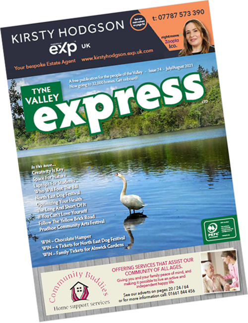 Tyne Valley Express Issue 74 July August Web Full