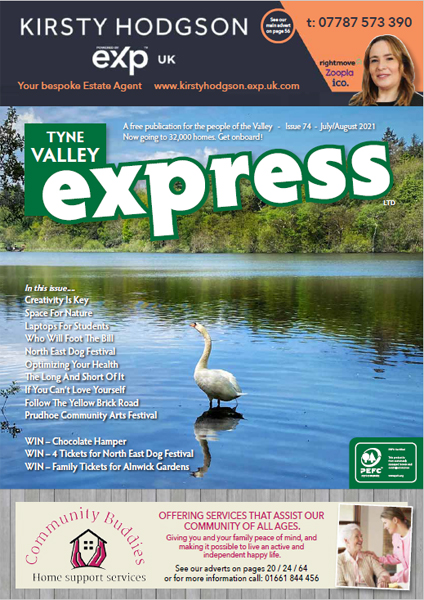 Tyne Valley Express Issue 74 July August Web Mobile